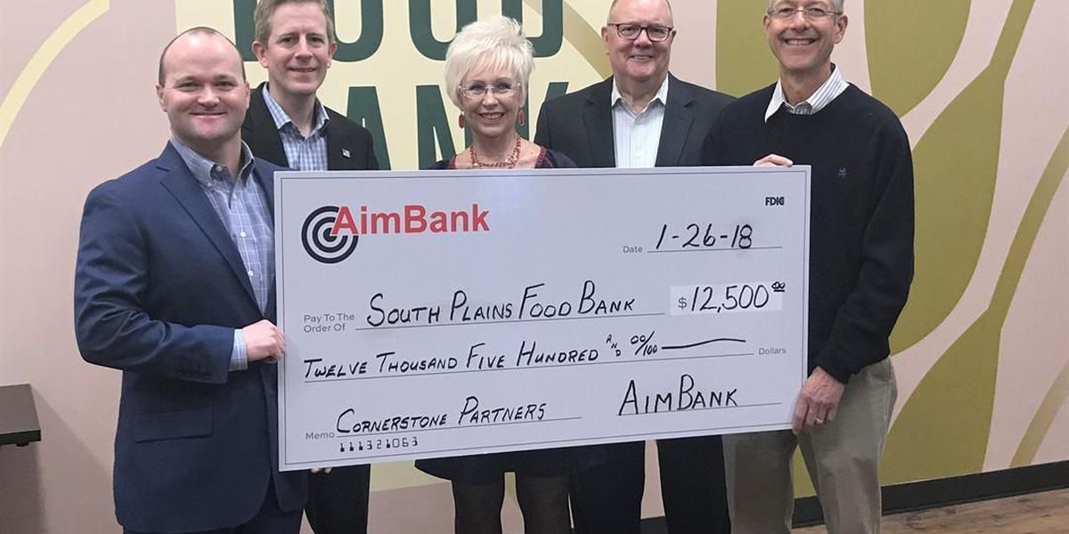 AimBank joins SPFB in fight against hunger with 5 year financial pledge