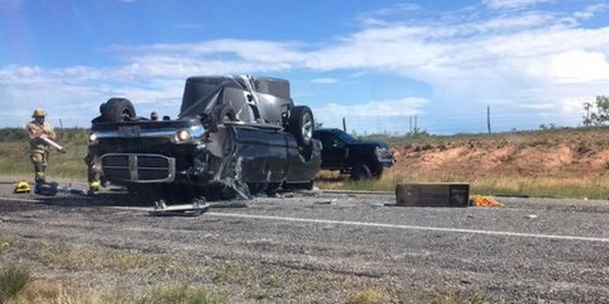 2 seriously injured in rollover on Hwy 180 on Borden County line