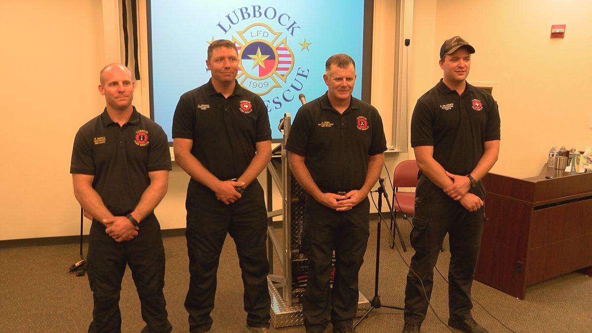Lubbock firefighters return home after helping battle California wildfires