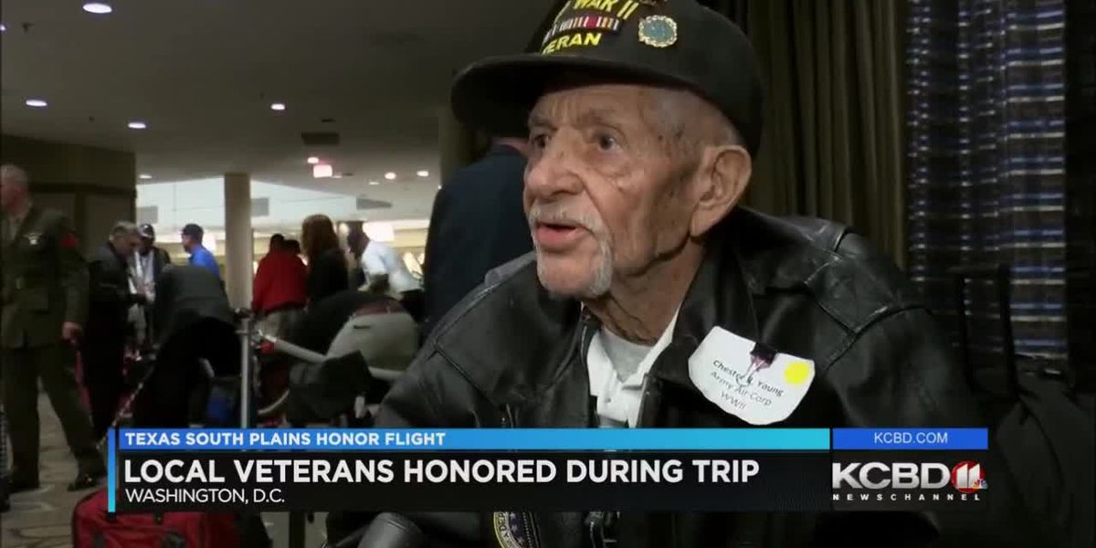 Area veterans honored on Day 1 of South Plains Honor Flight