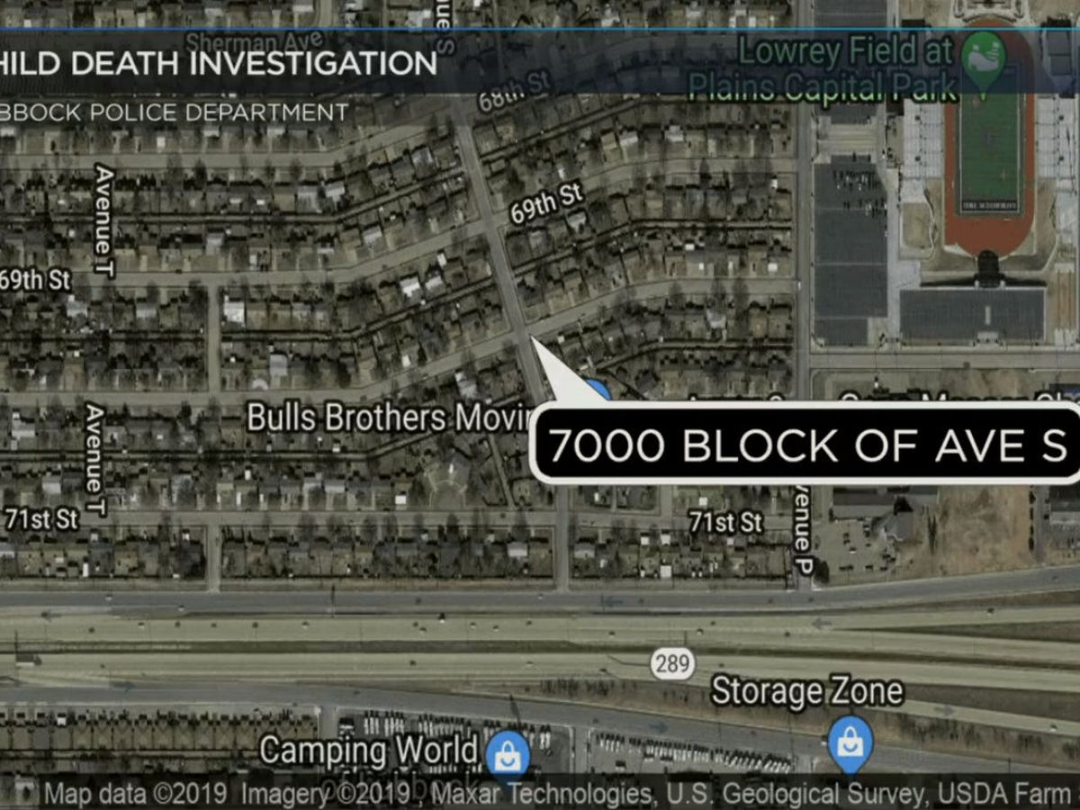 Lubbock police investigating death of a child