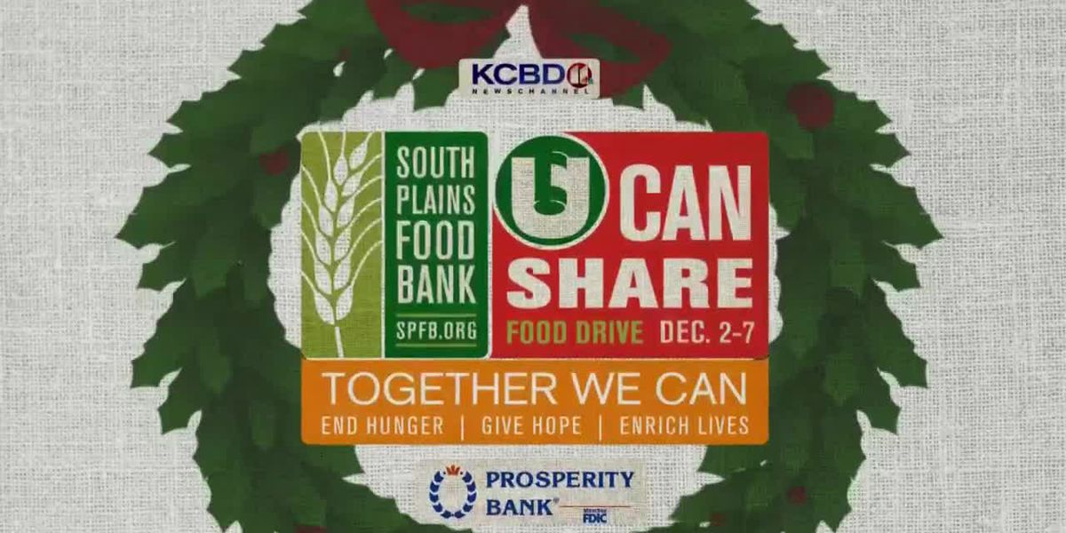 Lubbock's 2019 U Can Share Food Drive breaks record for number of meals raised
