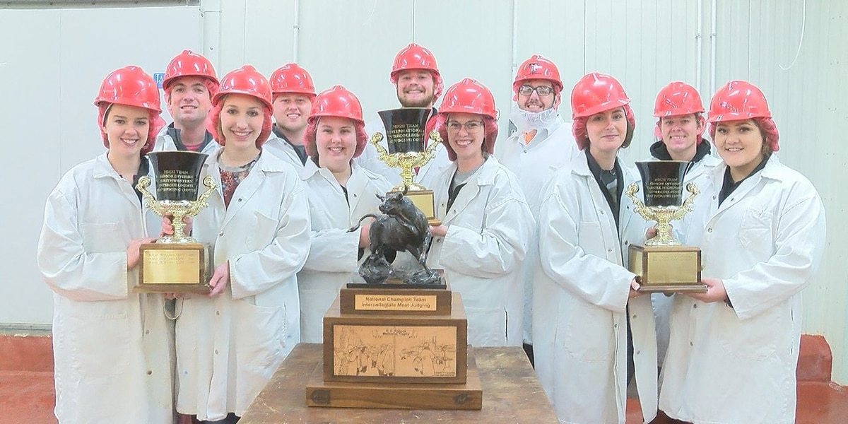 FOCUSED: Texas Tech Meat Judging wins 14th National Title as a Team
