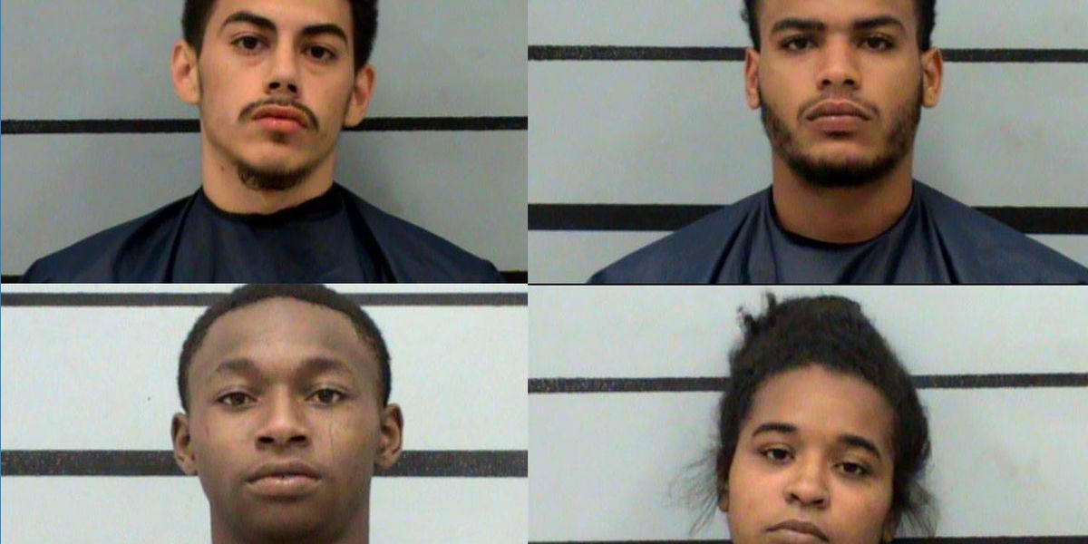 Four indicted, charged with organized crime after stealing LPD officer's gun from car