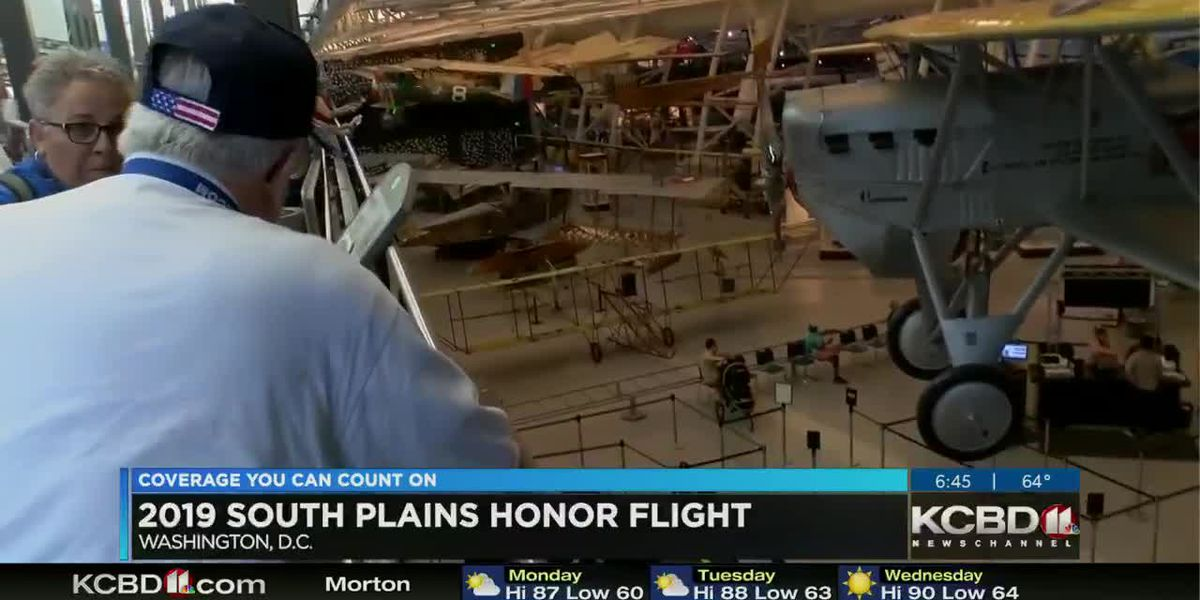 Daybreak Today - 2019 South Plains Honor Flight Tomb of the Unknown preview