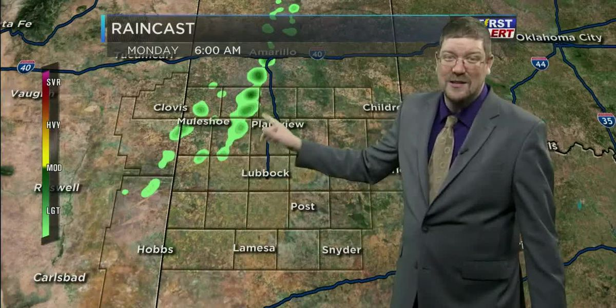 Hot and Sunny With Little to No Rain Chances