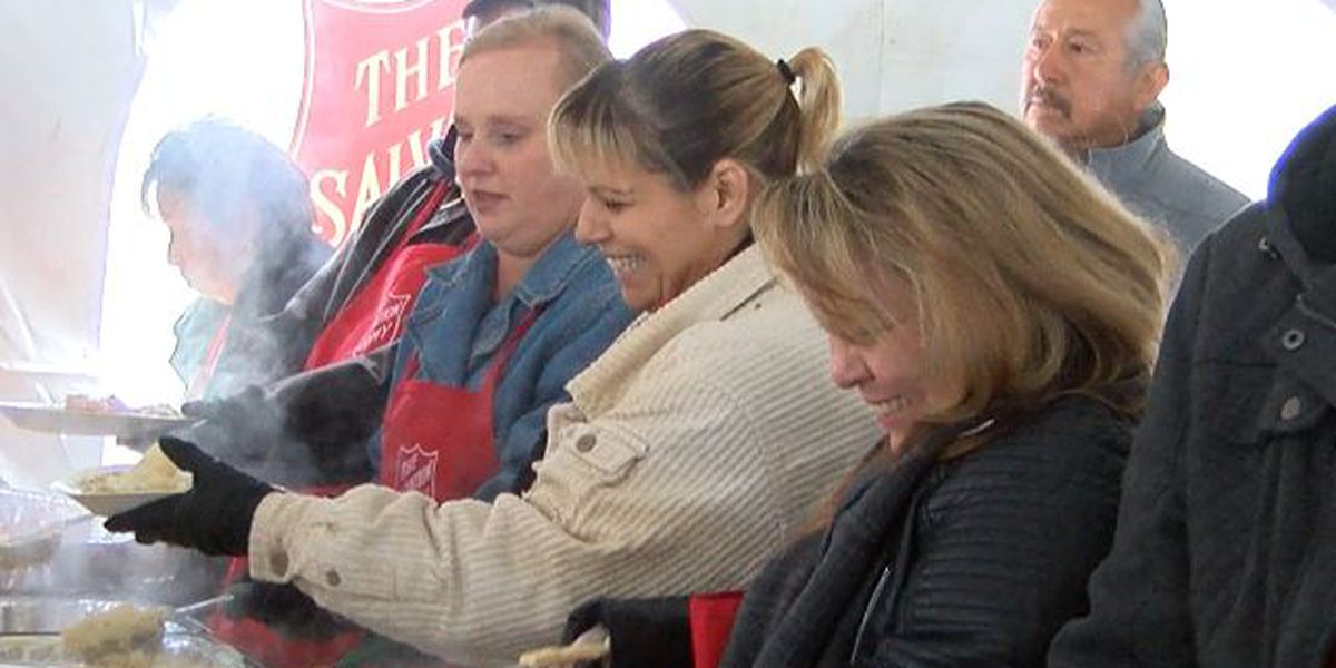 Salvation Army of Lubbock feeds hundreds at annual Thanksgiving lunch