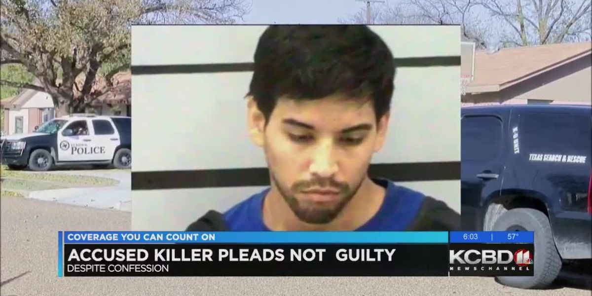Accused killer pleads not guilty