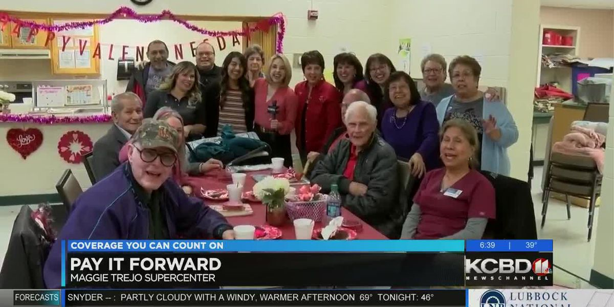 Pay It Forward: Valentine's gifts for Lubbock seniors