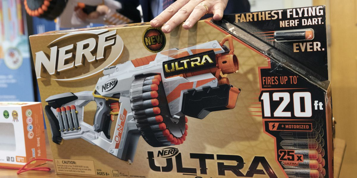 Nerf gun, Power Rangers claw among toy safety watchdog's 10 worst toys of 2019