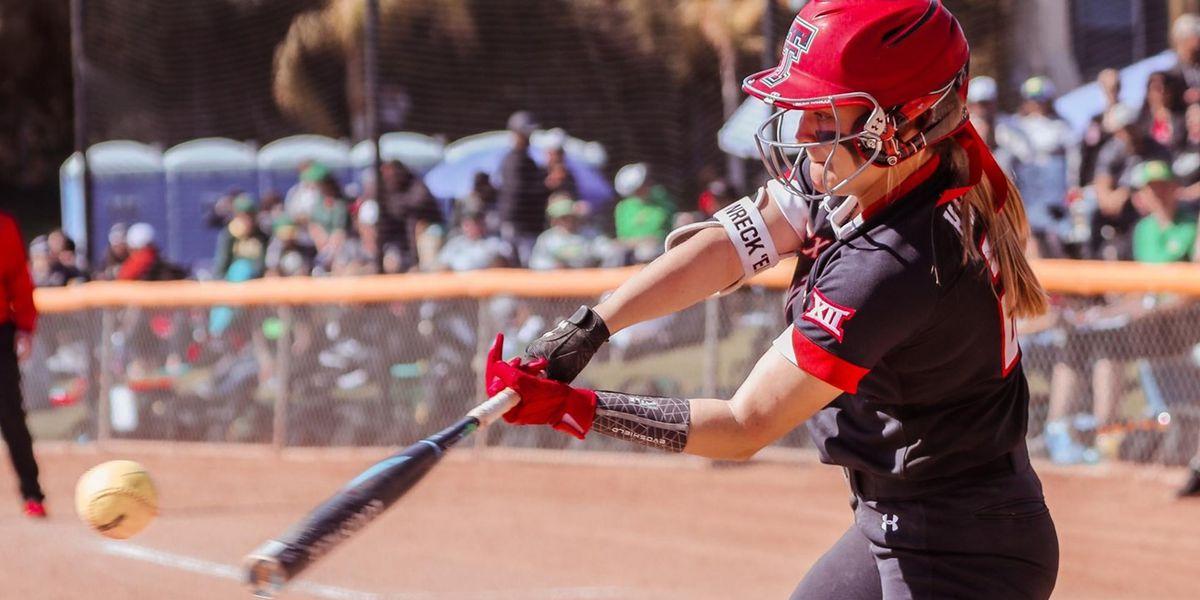 No. 12 Texas Tech softball falls to Kansas