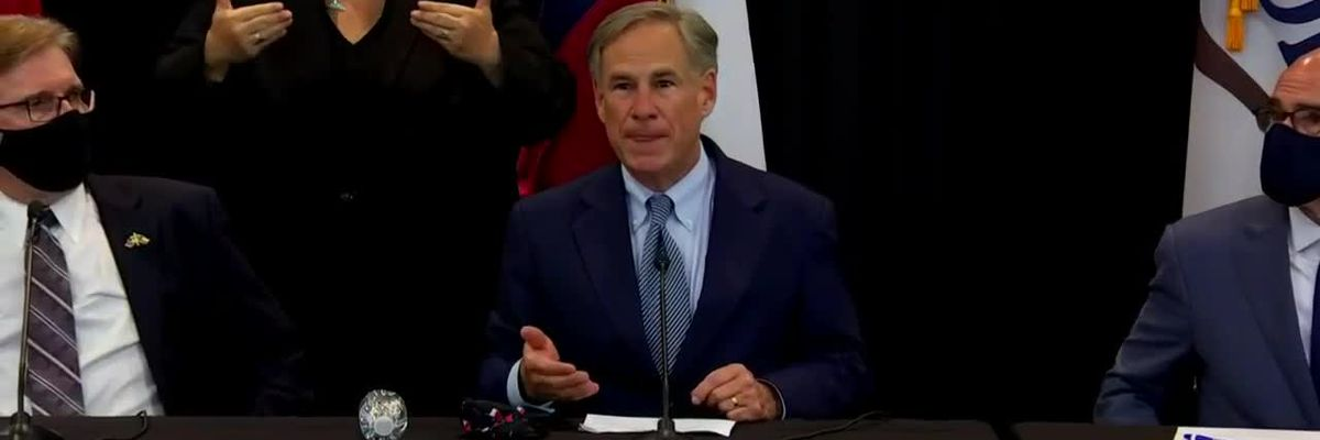 Gov. Abbott Police Reform News Conference - clipped version