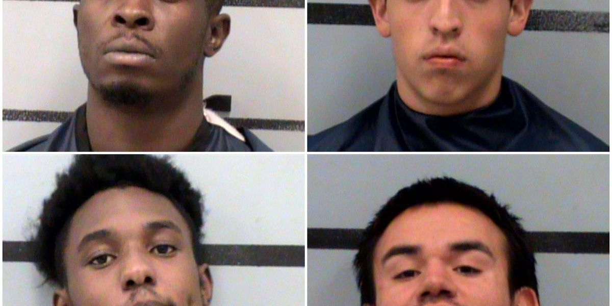 Police identify 4 who allegedly stole gun from Academy, started police chase