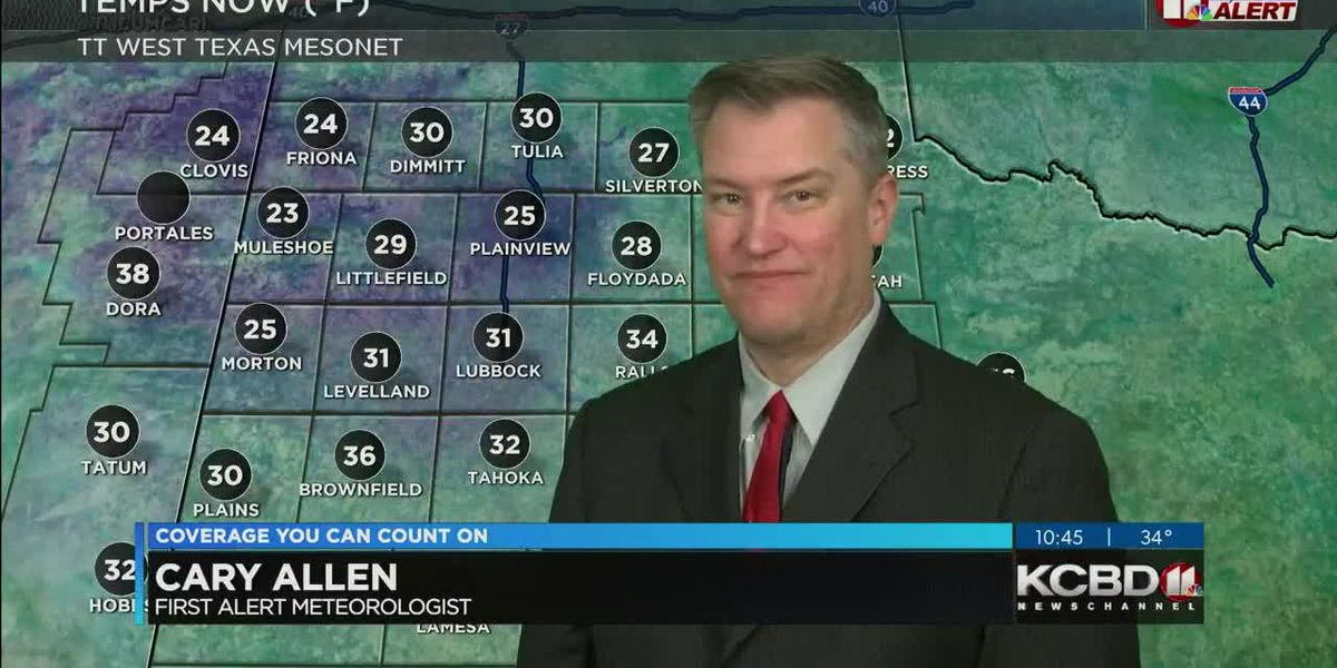KCBD Weather at 10 for Saturday, Jan. 16