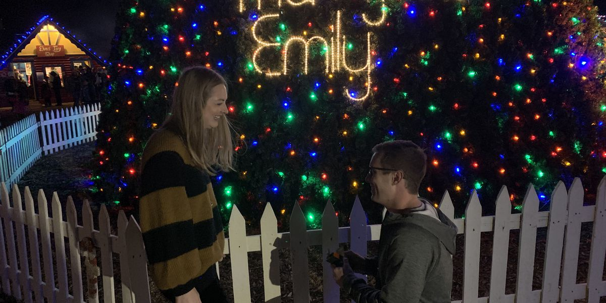 Santa Land proposal ends on a happy note for local couple