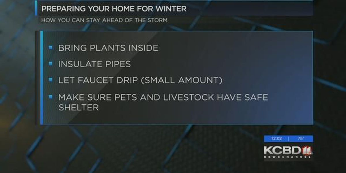 How to prepare for the cold weather ahead