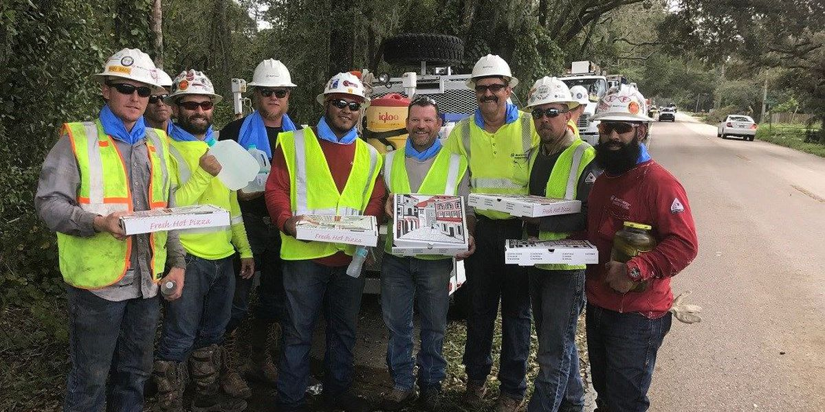 Xcel employees in Florida welcomed with pizza, treats