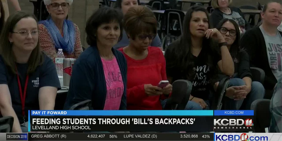 Pay It Forward: Helping Bill's Backpacks in Levelland