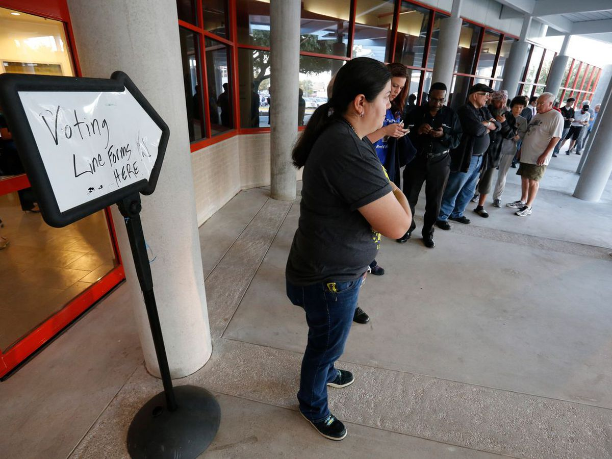 Many Texans' votes are lost when they go to the wrong polling place. Counties see countywide vote centers as an answer.