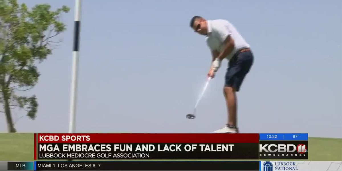 Lubbock Mediocre Golf Association embracing fun, lack of talent