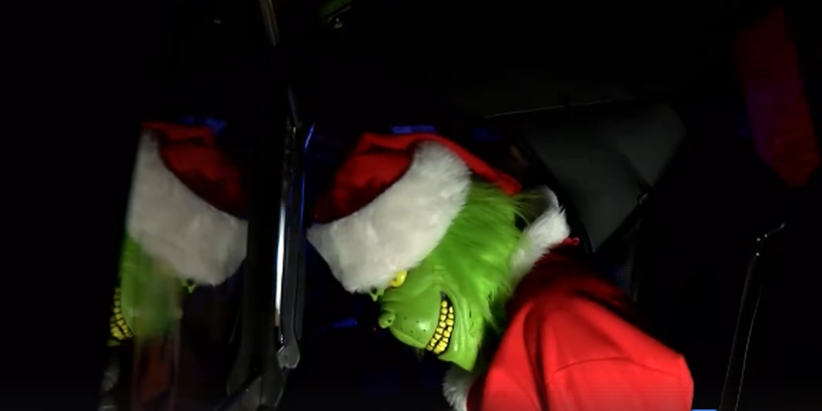 Lubbock police warn against Grinch-like activities with social media video