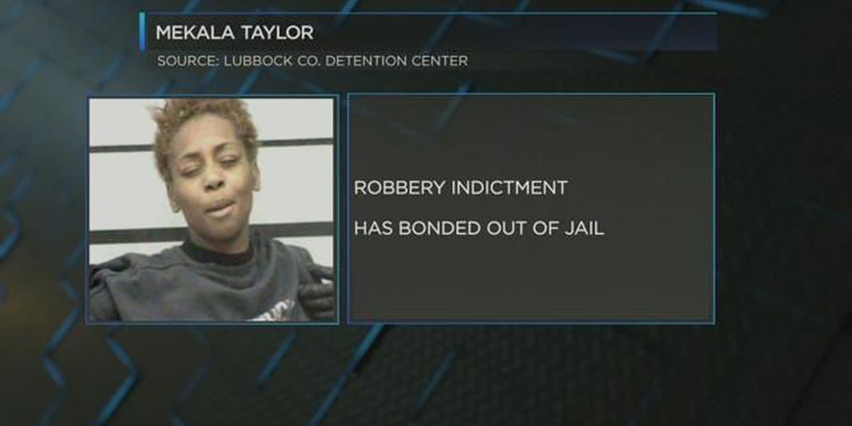 Lubbock woman indicted, charged with robbery
