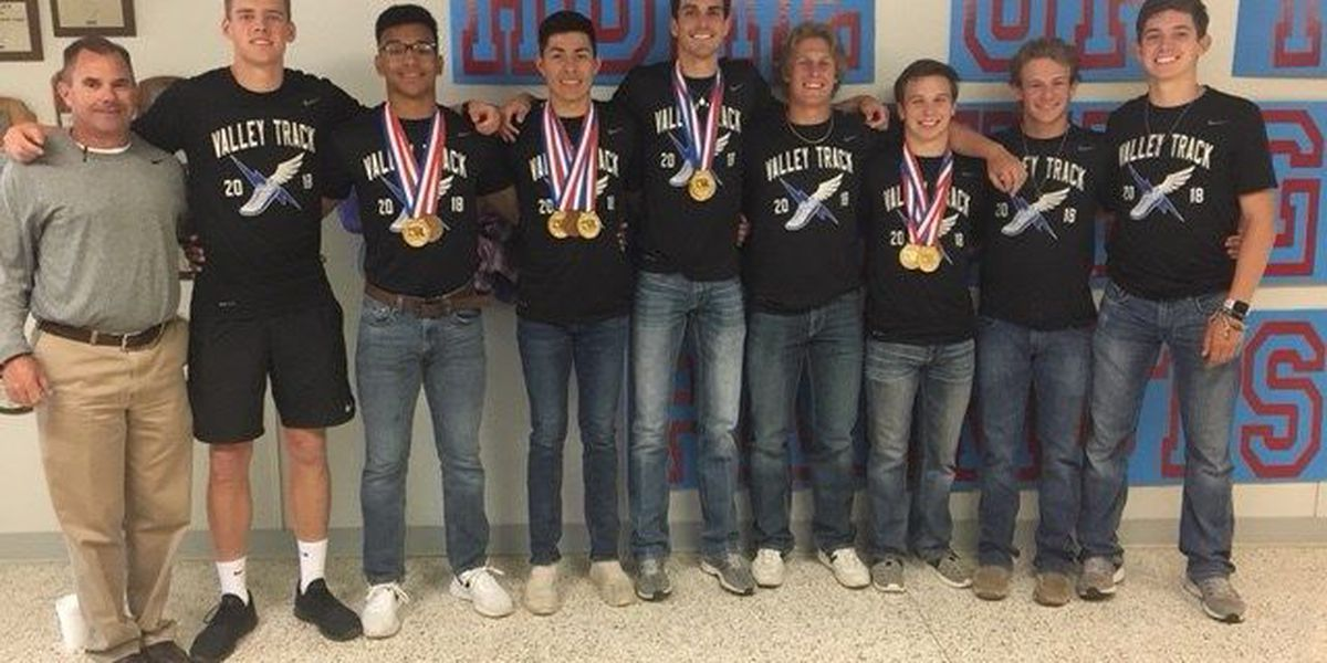 Valley Boys celebrate back to back 1A State Track and Field Championships