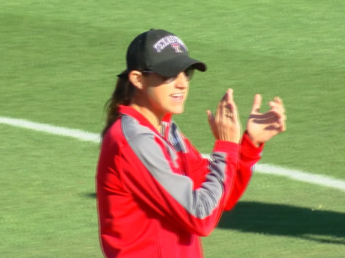 FULL VIDEO: One on one with Texas Tech softball coach Adrian Gregory