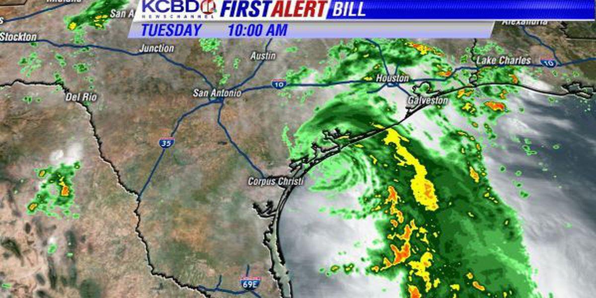 Tropical Storm Bill And Lubbock Rain Chances