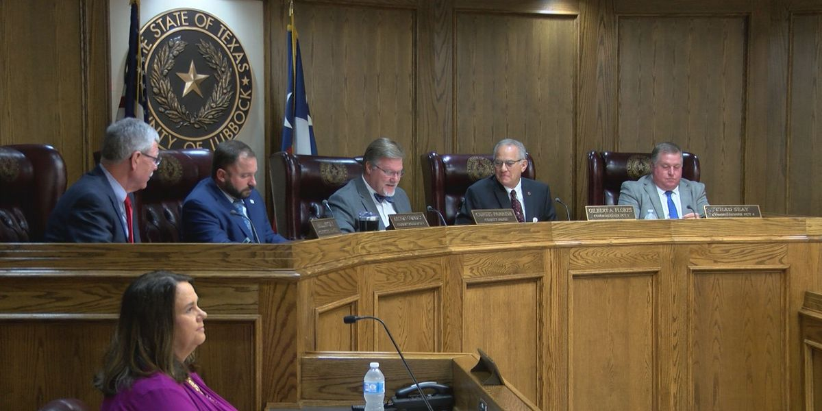 Lubbock County Comissioners let contract with NAAG expire, talk about what's next