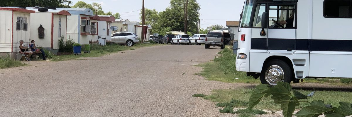 SWAT responds to barricaded man in trailer