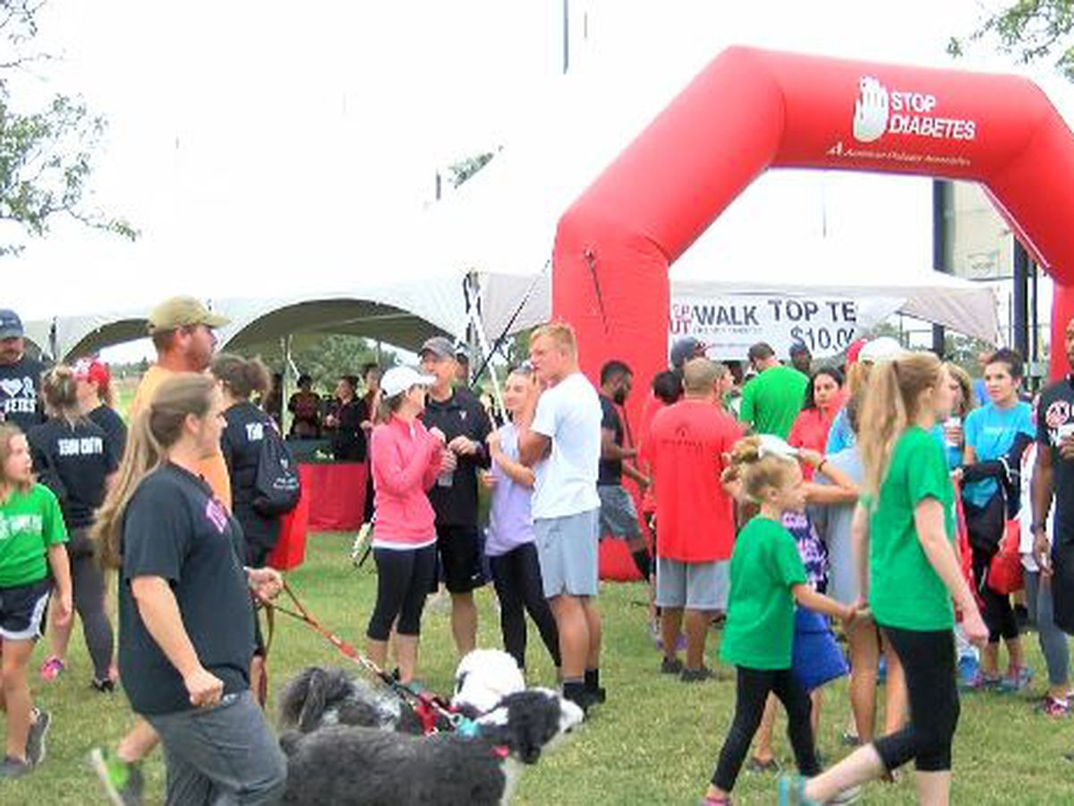 Step Out to fight diabetes, Saturday morning at Mackenzie Park