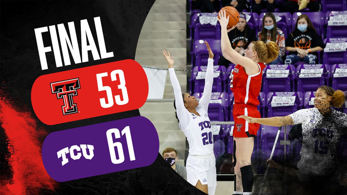 Lady Raiders fall to TCU on the road 61-53