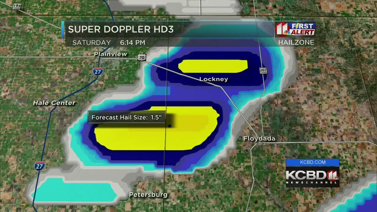 KCBD Weather at 6 for June 15