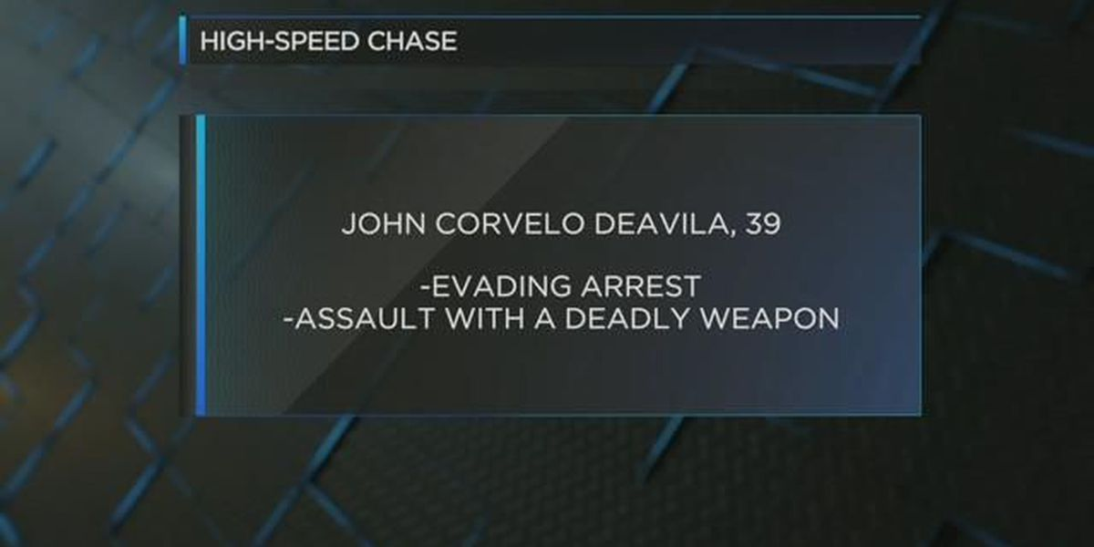 Suspect in custody after high-speed car chase across multiple counties