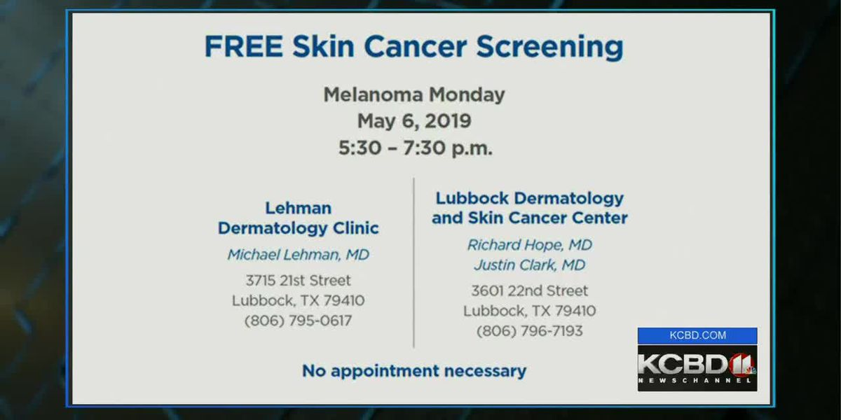 Noon Notebook: Covenant to host free skin cancer screenings Monday