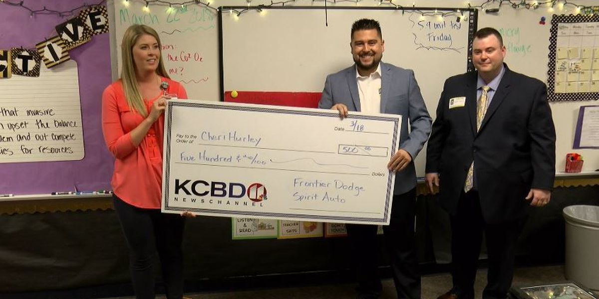 One Class At A Time: Willow Bend Elementary School teacher; Communities in Schools awarded $500