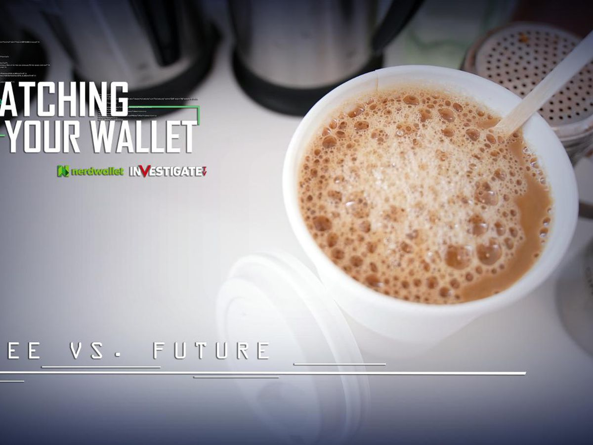Watching Your Wallet: How much could you earn if you invested your coffee money?