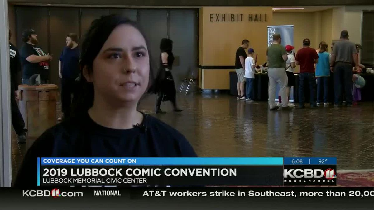 Hub City Comic Con taking over Lubbock Civic Center (6 p.m.)