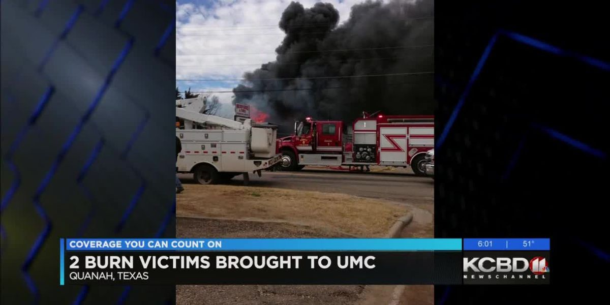 2 burn victims brought to UMC
