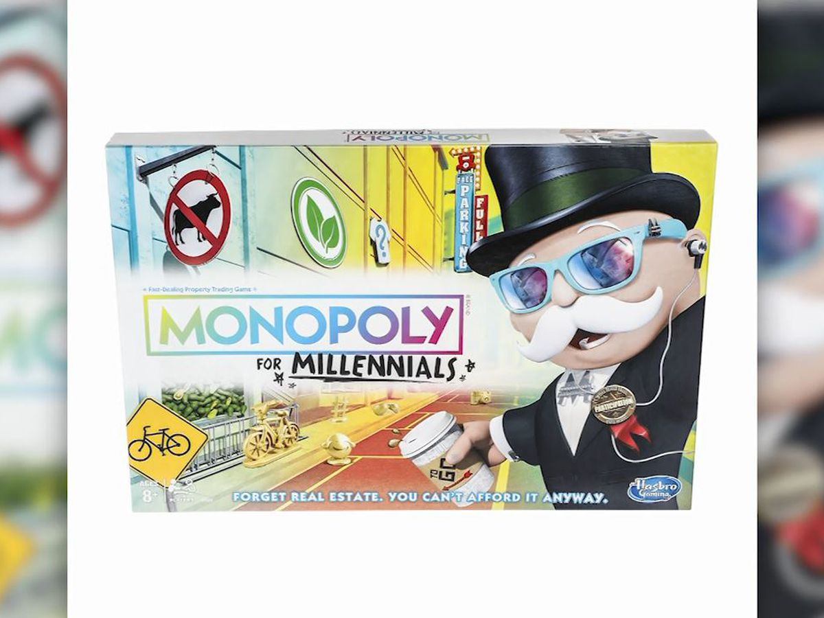 Hasbro introduces Monopoly for millennials