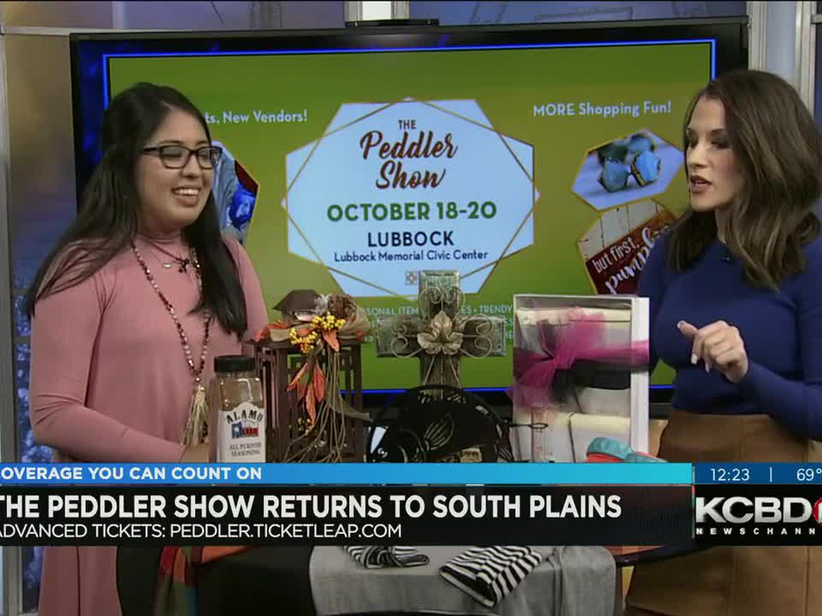 Peddler Show back in Lubbock Friday through Sunday