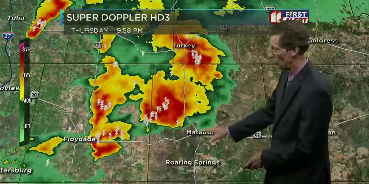 KCBD Weather at 10 for Sept. 19