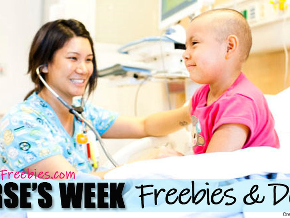 Freebies and deals offered during Nurse Appreciation Week