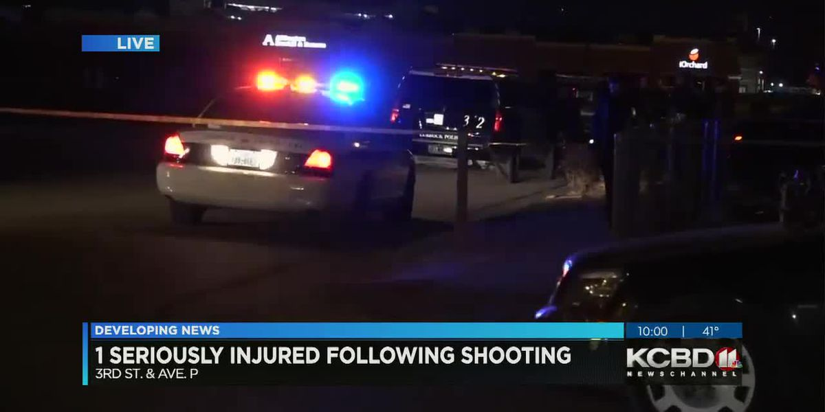 1 seriously injured in North Lubbock shooting