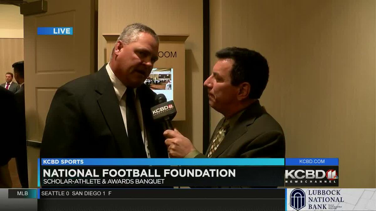 National Football Foundation Texas Tech chapter hands out annual awards