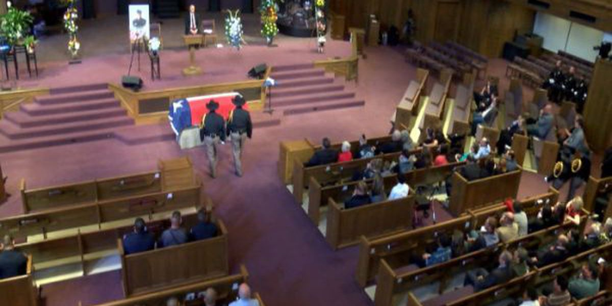 Officer Jeremy 'Tiny' Shedd honored at memorial service