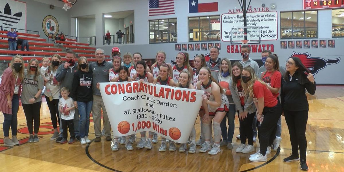 Chuck Darden wins his 1,000th game