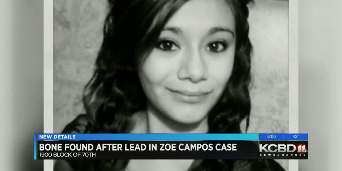 Bone found near Lowery Field connected to Zoe Campos investigation