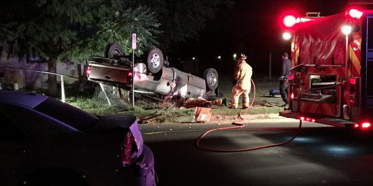 Firefighters remove driver from rollover at 500 Zenith